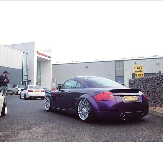 TT's at Ultimate Dubs With wrapped mk1