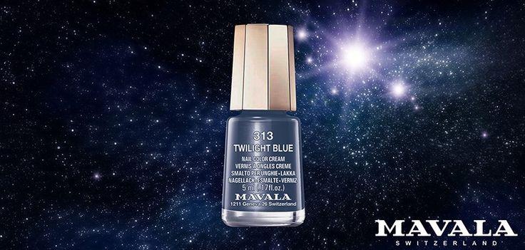 313 TWILIGHT BLU riprende le tonalità magiche e sognanti di una notte stellata!
