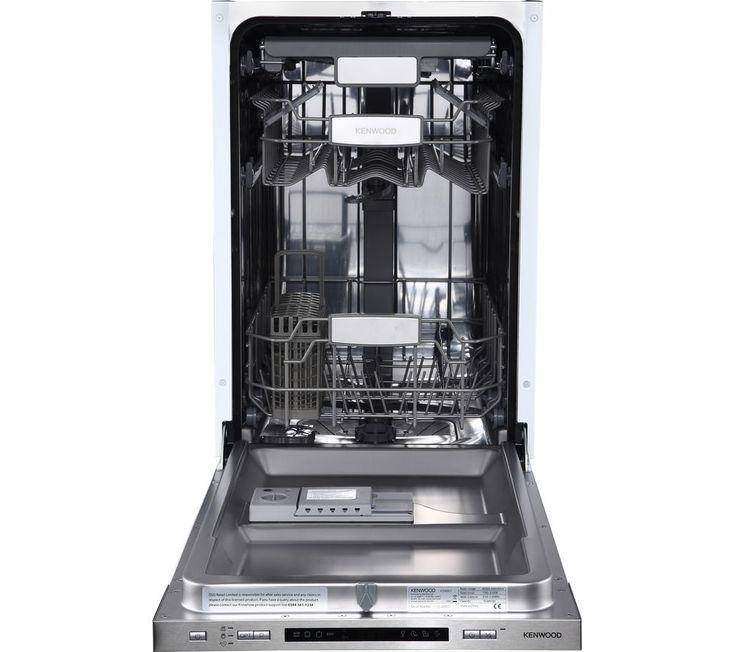 KENWOOD KID45S17 Slimline Integrated Dishwasher