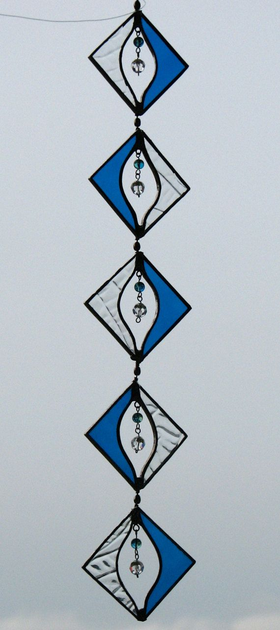 Stained Glass Suncatcher Spinner Patio by BayCreationsbyWendy, $38.00