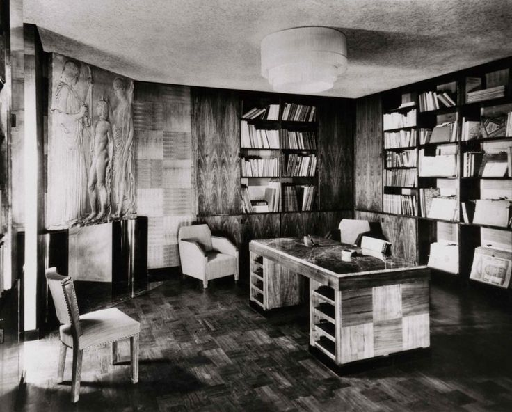 1000 images about art deco office on pinterest art deco deco and art - Decoration maison 1930 ...