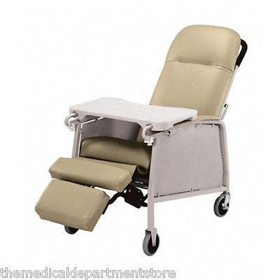 Other Orthopedic Products Lumex 574G Three 3 Position Recliner Geri Chair - Doe Skin -  sc 1 st  Pinterest & 53 best Bariatric Beds and Chairs images on Pinterest | Recliners ... islam-shia.org