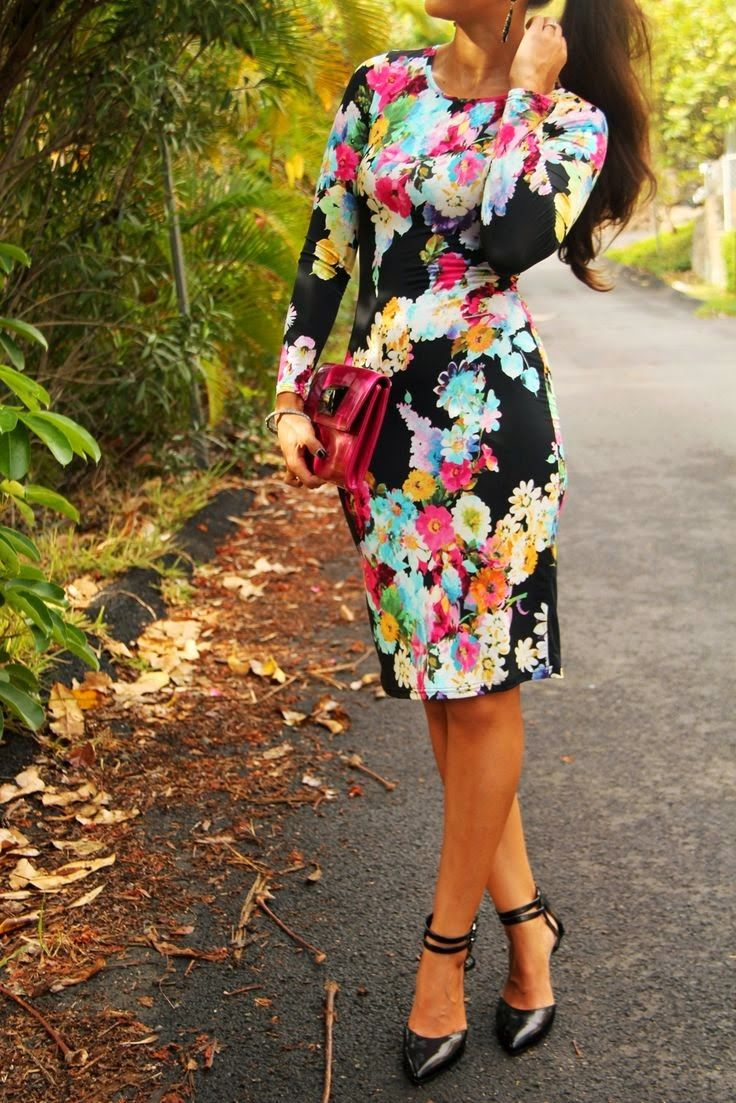 Floral Dress, Yum