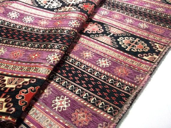 tissu d 39 ameublement de style tribal ethnique chenille tissu navajo azt que conception. Black Bedroom Furniture Sets. Home Design Ideas