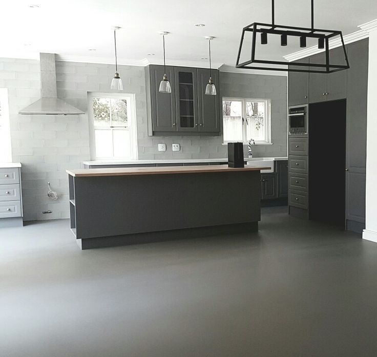 Teracoat seamless flooring  www.teracoat.co.za  Kitchen flooring ideas Colour slate grey