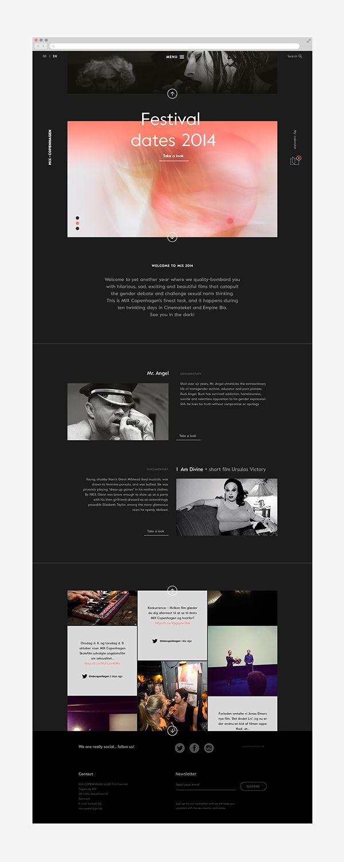 MIX Copenhagen, LGBT Film Festival | Design: UI/UX. Apps. Websites | Your Local Studio |