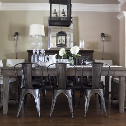 Vintage Metal Dining Chairs 20 best metal chair inspiration images on pinterest | home