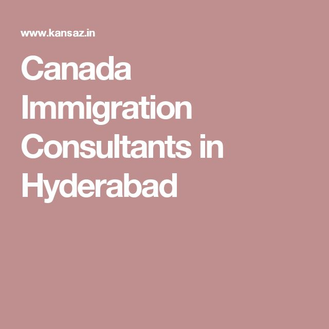 Canada Immigration Consultants in Hyderabad