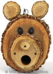 Birdhouse - Bear Head