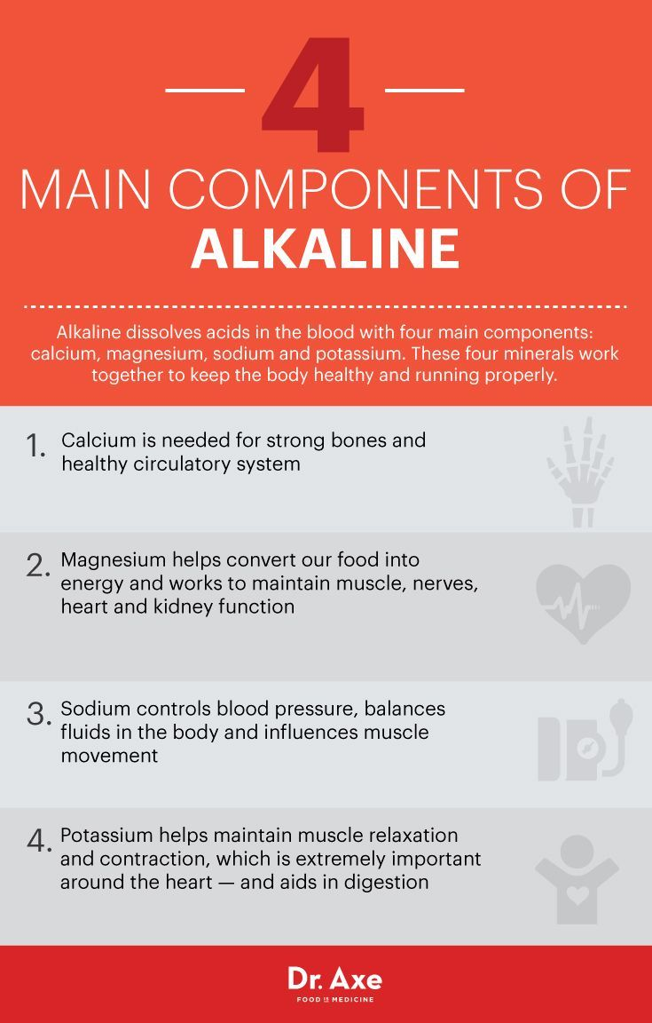 Alkaline benefits - Dr. Axe www.draxe.com #health #holistic #natural