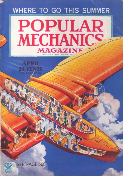 Popular Mechanics airplane.  Page 568?! That's not a magazine, that's a mid 80's Sears Catalog!