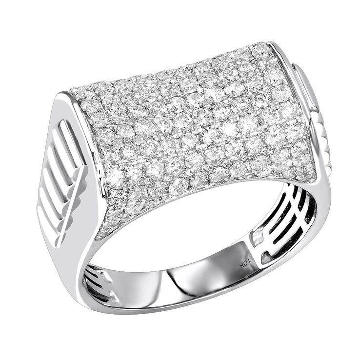 34 Grams Unique Diamond Set: Best 25+ Men's Diamond Rings Ideas On Pinterest