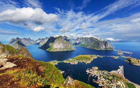 Lofoten-szigetek, Norvégia
