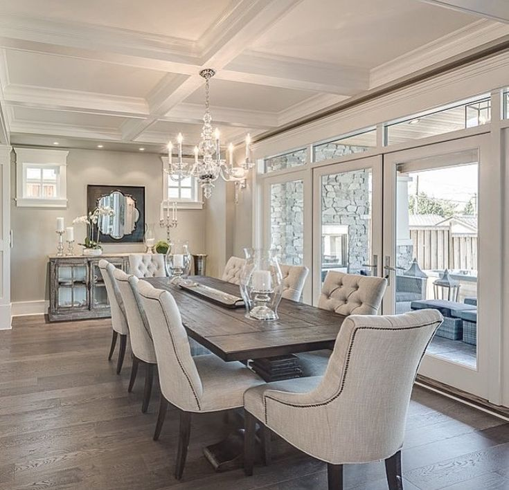 Dinning table and chairs wow #FormalDiningRooms