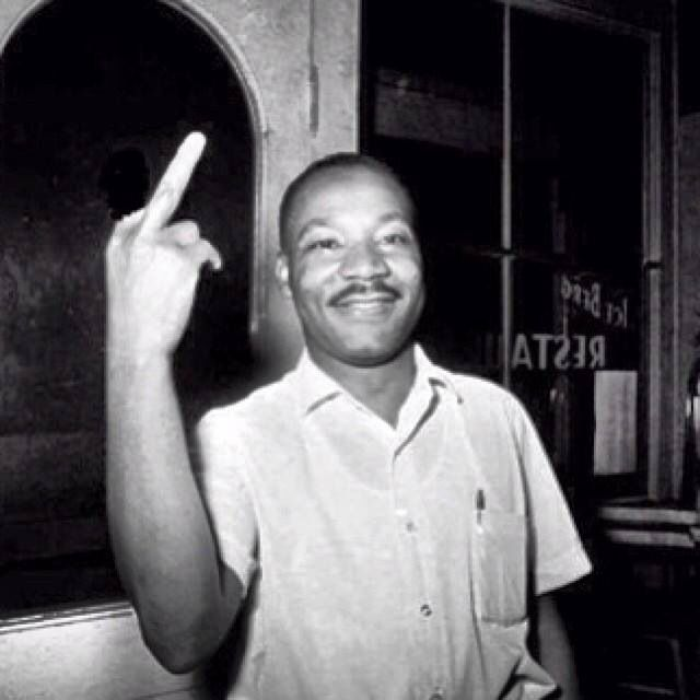best black history images african americans fact photoshop of a photo where he holds up two fingers after learning that the senate had passed the civil rights bill