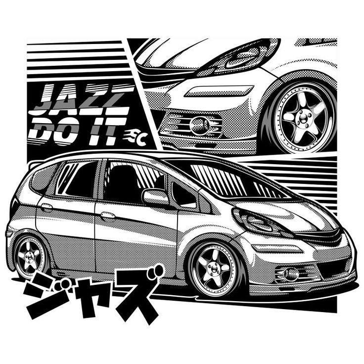 Pin oleh Autumn di Honda Fit di 2020 Mobil, Hitam dan