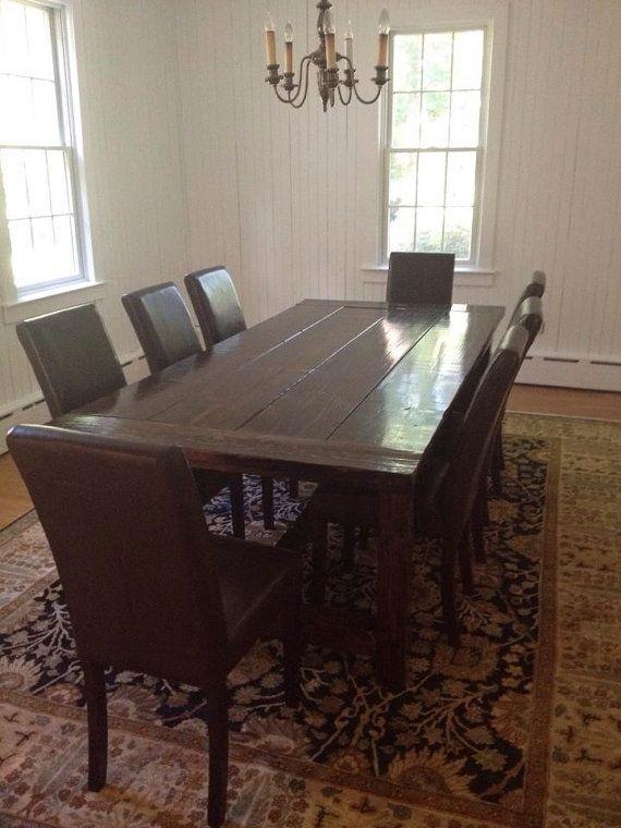 22 Best Dining Table Ideas Images On Pinterest  Dining Room Impressive Custom Built Dining Room Tables Inspiration Design