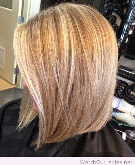Long Angled Bob Haircut! Simply WOW! <3 Check now!