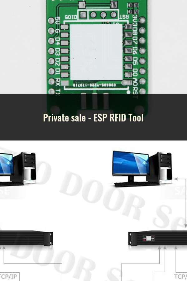ESP RFID Tool | Smart Card System | Wifi, Cards