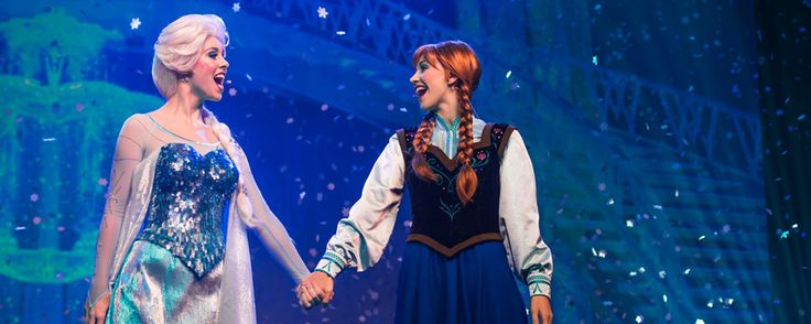 Don't miss the royal return of Frozen during this frosty summer celebration—LIVE! at Disney's Hollywood Studios.