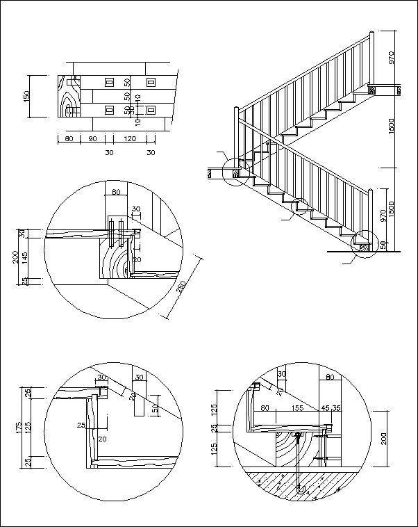 Free Stair Elevation Cad Cad Design Free Cad Blocks