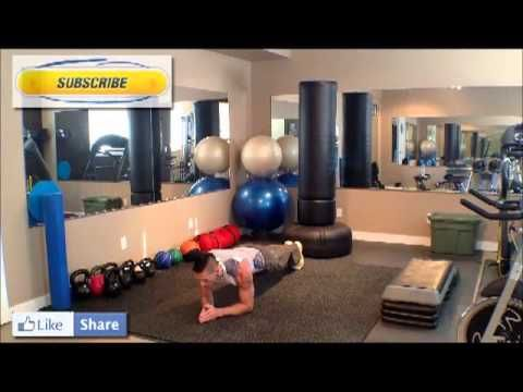 Calgary Personal Trainer Plank Tutorial. How to do a Plank by Bounce Lif...