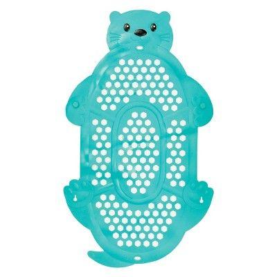 Infantino Go GaGa 2-In-1 Bath Mat & Storage Basket - Teal : Target
