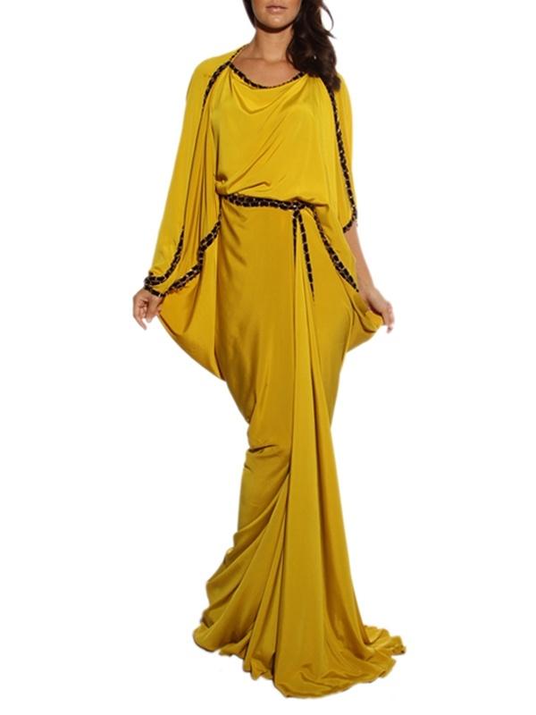 MOONOIR silk crepe satin dress