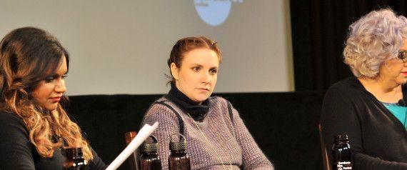 Lena Dunham Dings Woody Allen, Discusses Campus Rape At Sundance