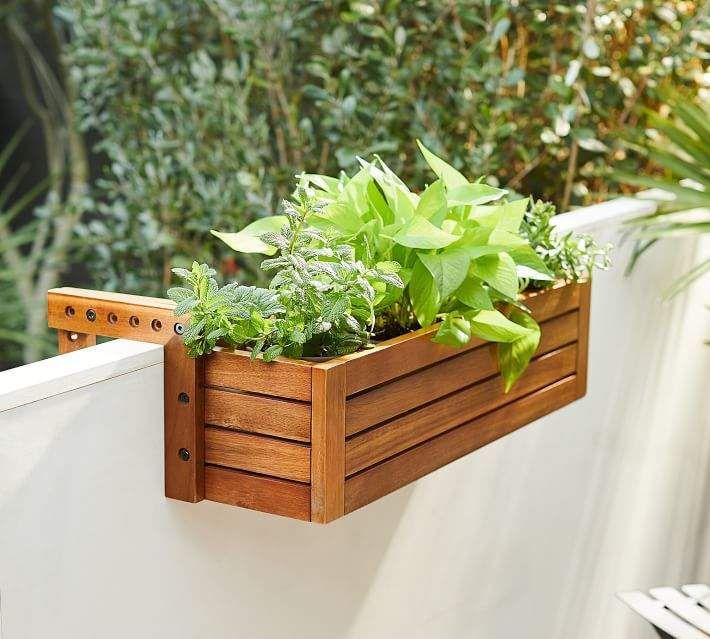 46++ Flower pots for balcony railings ideas