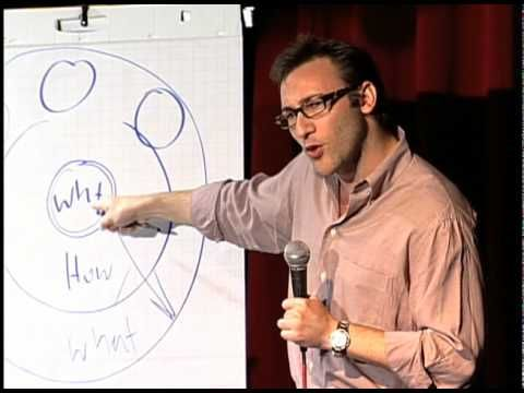 TEDxPugetSound - Simon Sinek - 9/17/09    I take a lot of insight from Simon. This is the first time I heard from him, then immediately bought and read his book.