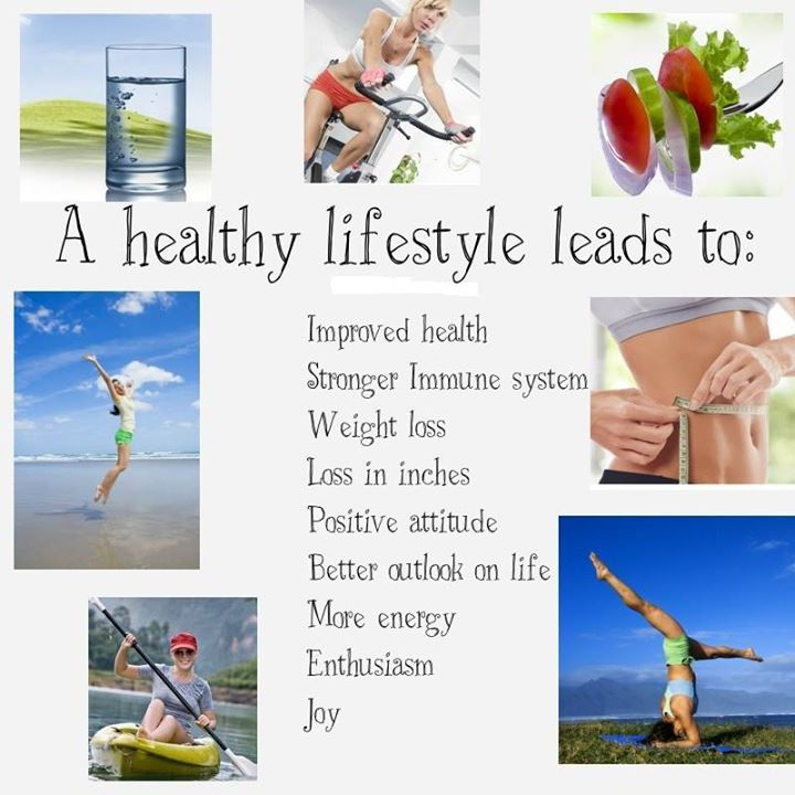 Healthy Lifestyle Benefits! Start living healthy today ...