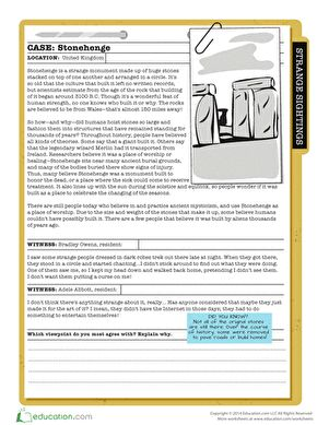 what is stonehenge comprehension exercisescomprehension worksheets5th grade readingreading practicehalloween - Free Halloween Reading Comprehension Worksheets