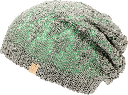 9f3abc88026 ... usa empyre noble mint grey reversible lace beanie 89014 b2442