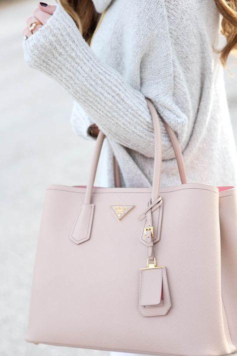 Prada Nude Handbag