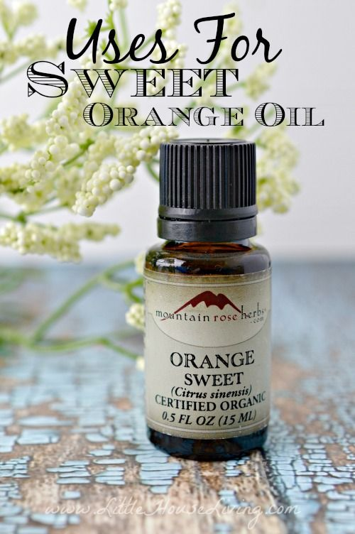 Sweet Orange Oil Uses. You have to check these out! So many ideas that you haven't thought of yet.