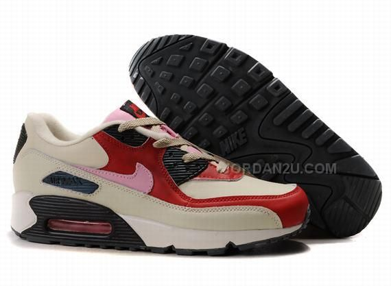 competitive price ec13f d1f78 ... Ken Griffey Shoes Nike Air Max 90 Beige Red Black Pink Nike Air Max 90  ...