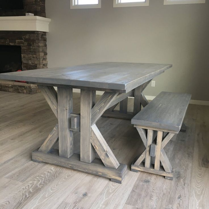 French Farmhouse Dining Table Printable Plans In 2020 French