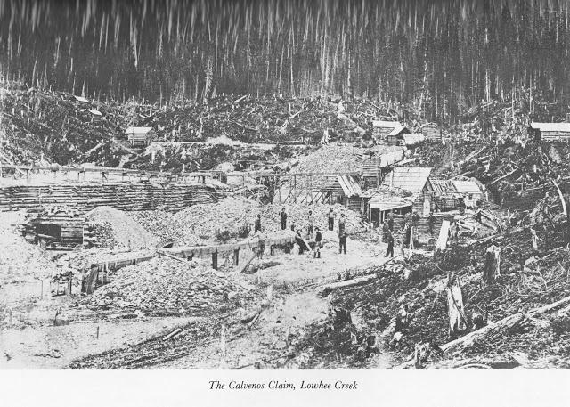 The Calvenos Claim, Lowhee Creek