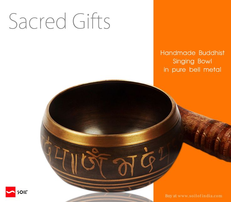 #soilofIndia #BuddhistSingingBowl Often used by healers, #SingingBowls are also believed to bring the vibrations of the body into stillness, and their sounds are associated with religious rituals as well as with music for festivals and joyous occasions.