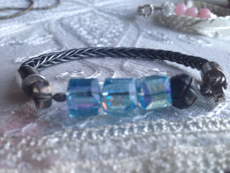 Mavi& Siyah, Silver,Swarovski , Kazaz  By Nur