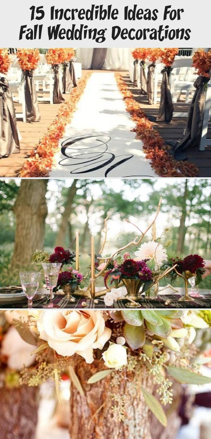 15 Incredible Ideas for Fall Wedding Decorations | two pink canaries #weddingdecorFlowers #weddingdecorLanterns #Winterweddingdecor #Summerweddingdecor #weddingdecorCandles