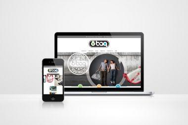 Design of 8bag.eu website
