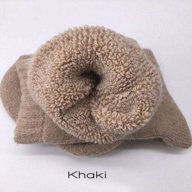 3 Pair Super Thick Merino Wool Socks (S-M)