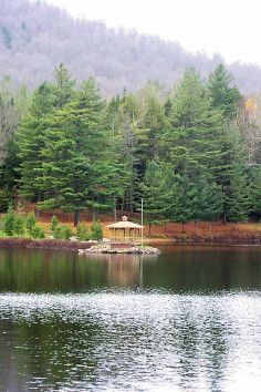 Tupper Lake, is a part of Adirondack Park in New York.