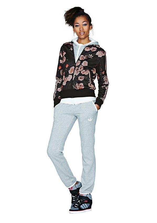 adidas firebird roses jacket