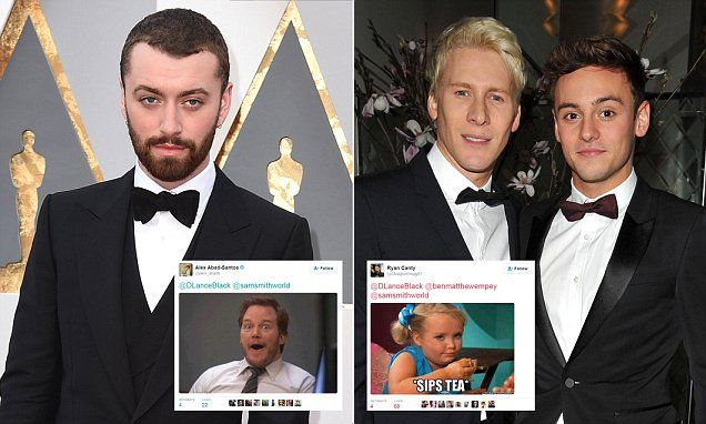 Dustin Lance Black blasts Sam Smith after Oscars for 'texting' Daley