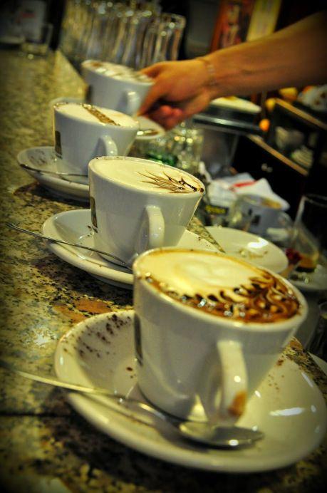 Cappuccino. Tolentino, Italy