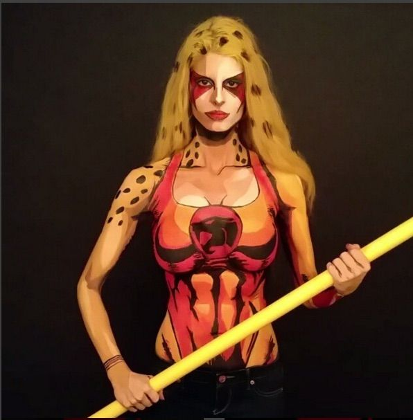 Cheetara Comes To Life In This Gorgeous Cospaint