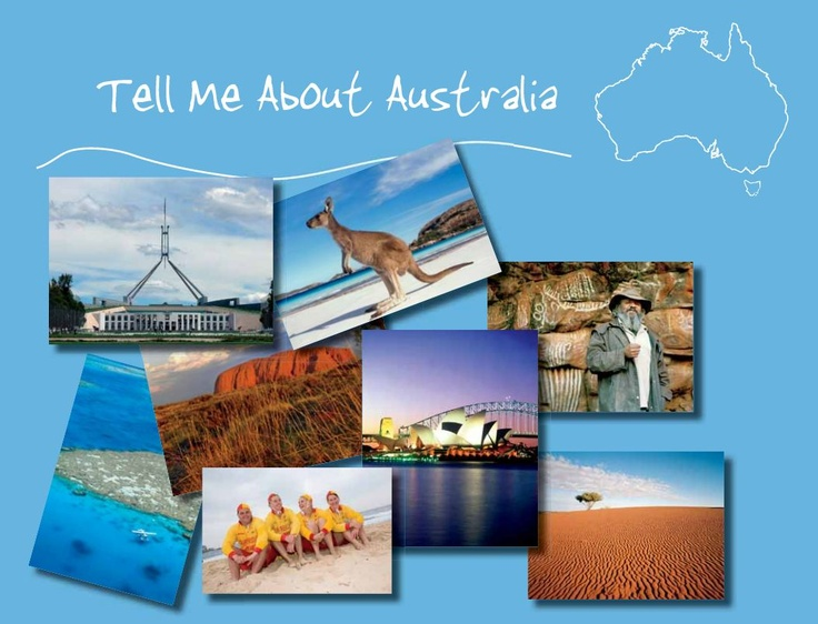 Fantastic PDF with Australian information. From recipes, animals, school uniforms etc. American resource.